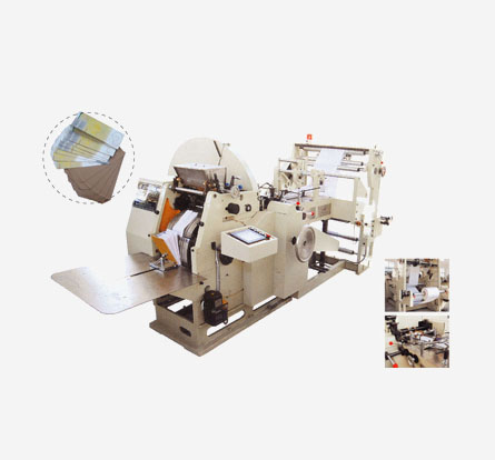 Automatic Food Bag Making Machine
