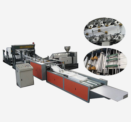 WFD -1300 tube making and cutting machine