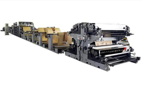 Fully automatic multiply kraft paper bag tube machine